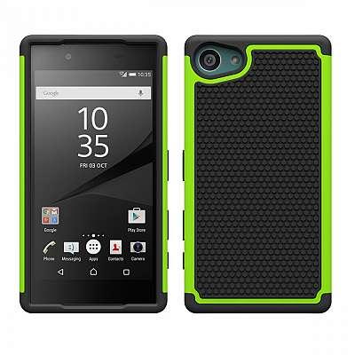 Ovitek Hard cover (zelen) za Sony Xperia Z5 Compact