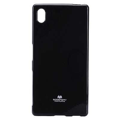 Ovitek TPU Goospery (črn) za Sony Xperia Z5