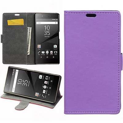 Preklopni ovitek (vijoličen) za Sony Xperia Z5
