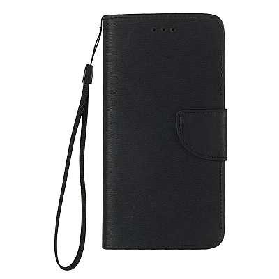 Preklopni ovitek Premium (črn) za Apple iPhone 5/5s/SE