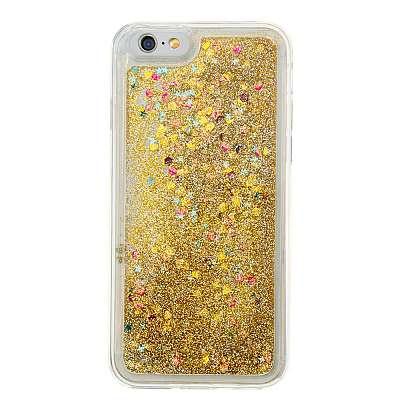 Vodne bleščice (zlat) za Apple iPhone 6 / 6S