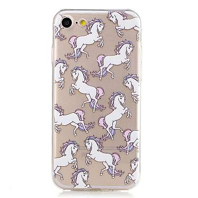 Ovitek TPU Horses za Apple iPhone 7 / 8