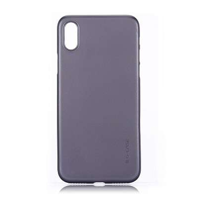 Ovitek TPU G-case (Črn) za iPhone X