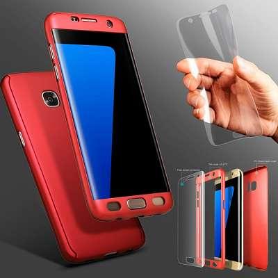 Ovitek 360° (Rdeč) za Galaxy S9 Plus