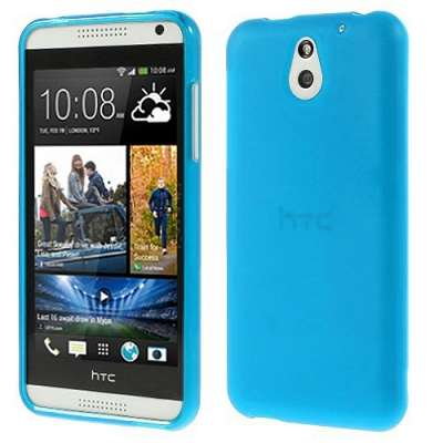 "Ovitek TPU ""Plain"" (moder) za HTC Desire 610"