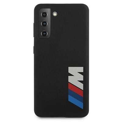 Originalen ovitek BMW (black) Silicone Logo za Samsung Galaxy S21