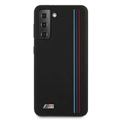 Originalen ovitek BMW (black) Stripes M collection za Samsung Galaxy S21 Plus