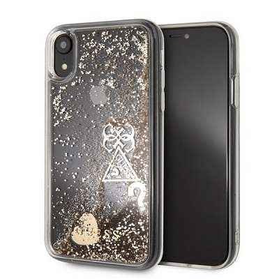 Original ovitek GUESS (sparkle) za iPhone Xr