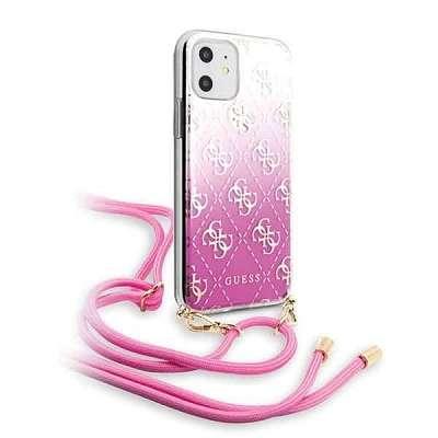 Originalen ovitek GUESS (pink) za iPhone 11
