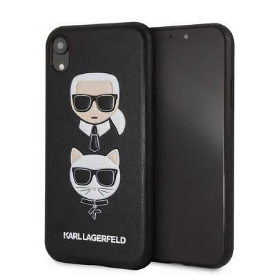 Original ovitek Karl Lagerfeld (black) za iPhone Xr