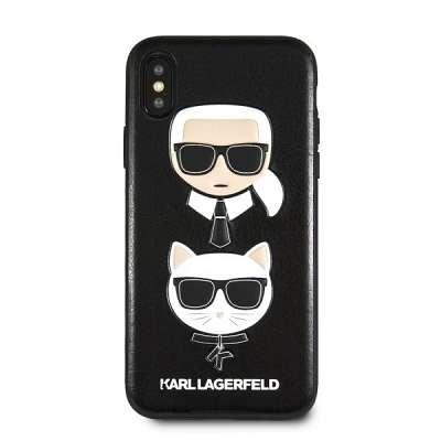 Original ovitek Karl Lagerfeld (black) za iPhone XsMax
