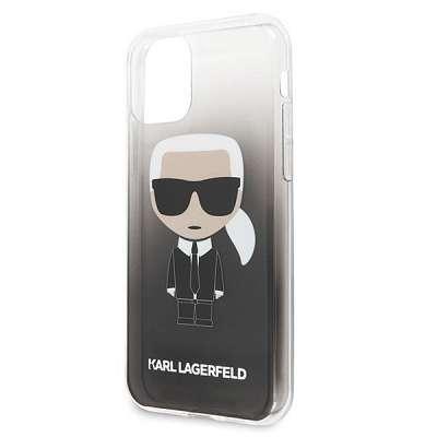 Original ovitek Karl Lagerfield (black&white) za iPhone 11 Pro