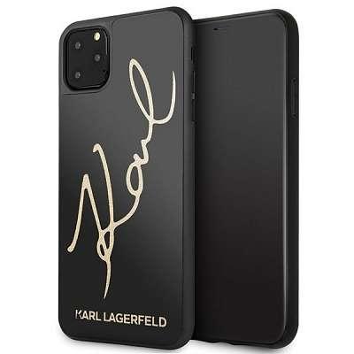 Original ovitek Karl Lagerfeld (Signature Glitter) za iPhone 11 Pro Max