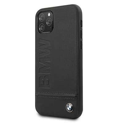 Originalen ovitek BMW (black) Signature za iPhone 11 Pro Max
