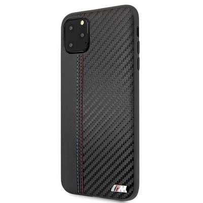 Originalen ovitek BMW (black) PU Carbon za iPhone 11 Pro Max