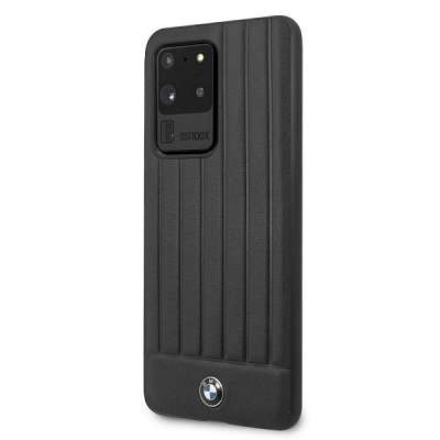 Originalen ovitek BMW (black) Verticale lines za Samsung Galaxy S20 Ultra