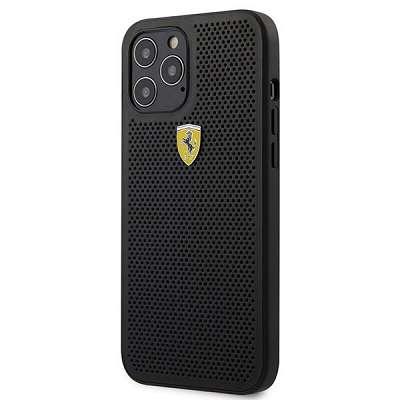 Originalen ovitek FERRARI (leather) za iPhone 12 Pro Max