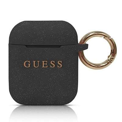 Guess ovitek za AirPods (black)