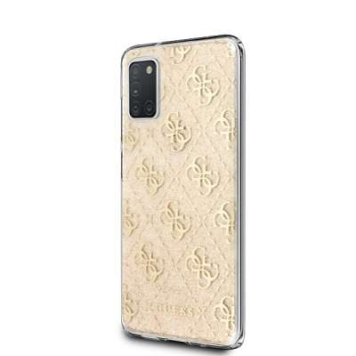 Originalen ovitek GUESS (gold) Twister za Samsung Galaxy A31