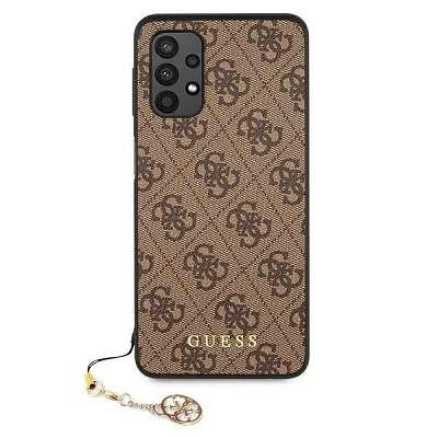 Originalen ovitek GUESS (brown) za Samsung Galaxy A32 4G