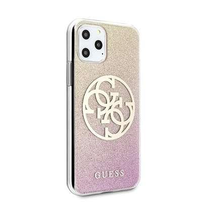 Originalen ovitek GUESS (pink&gold) za iPhone 11 Pro