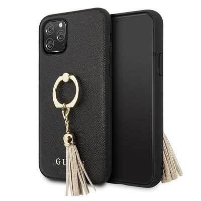 Originalen ovitek GUESS (ring) black za iPhone 11 Pro