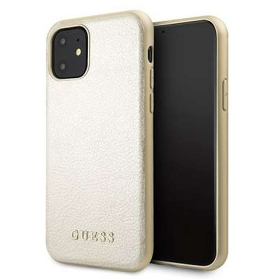 Originalen ovitek Guess (gold) za iPhone 11
