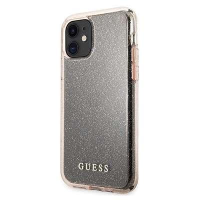 Originalen ovitek GUESS (rose sparkle) za iPhone 11