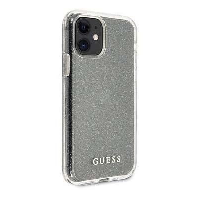 Originalen ovitek GUESS (transparent sparkle) za iPhone 11