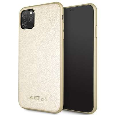 Originalen ovitek Guess (gold) za iPhone 11 Pro Max