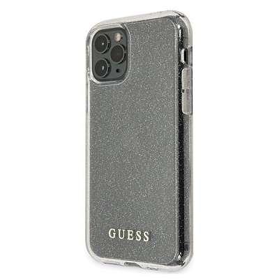 Originalen ovitek GUESS (transparent sparkle) za iPhone 11 ProMax