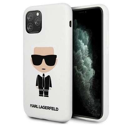 Originalen ovitek Karl Lagerfield (white) za iPhone 11