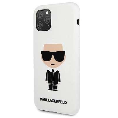 Original ovitek Karl Lagerfield (white) za iPhone 11 Pro
