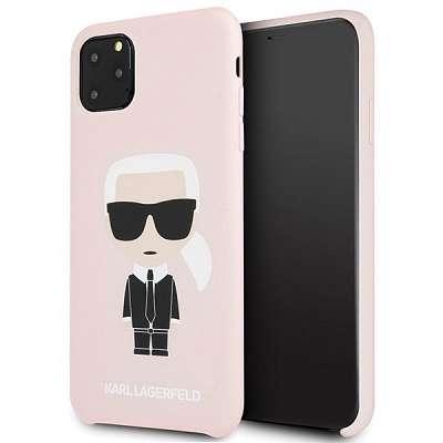 Originalen ovitek Karl Lagerfeld (pink) za iPhone 11 Pro Max