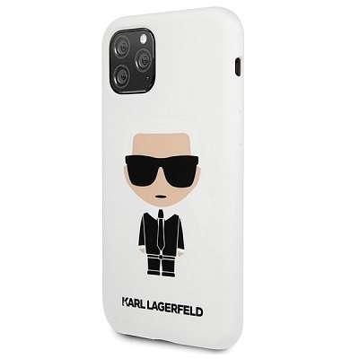 Original ovitek Karl Lagerfeld (white) za iPhone 11 ProMax