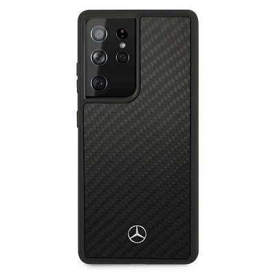 Originalen ovitek MERCEDES (black) Dynamic Line za Samsung Galaxy S21 Ultra