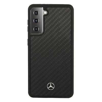 Originalen ovitek MERCEDES (black) Dynamic Line za Samsung Galaxy S21 Plus