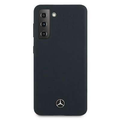 Originalen ovitek MERCEDES (dark blue) Silicone za Samsung Galaxy S21 Plus