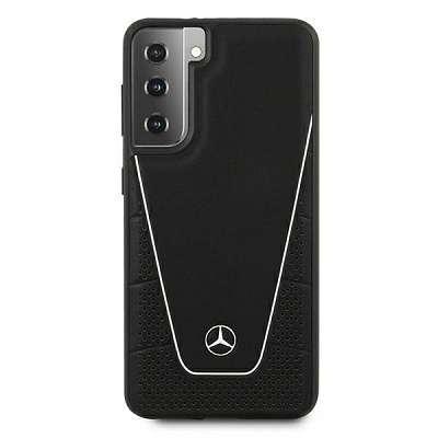 Originalen ovitek MERCEDES (black) Dynamic Line za Samsung Galaxy S21