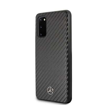 Originalen ovitek MERCEDES (black) Croco za Samsung Galaxy S20