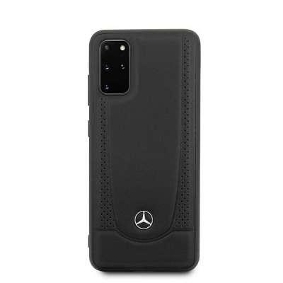 Originalen ovitek MERCEDES (black) leather za Samsung Galaxy S20 Plus