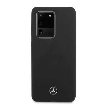 Originalen ovitek MERCEDES (black) Silicone za Samsung Galaxy S20 Ultra