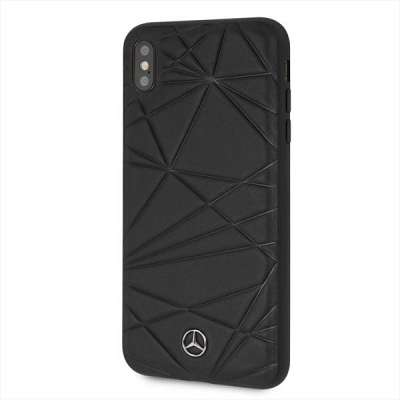 Originalen ovitek MERCEDES (black) Twister za iPhone X / Xs