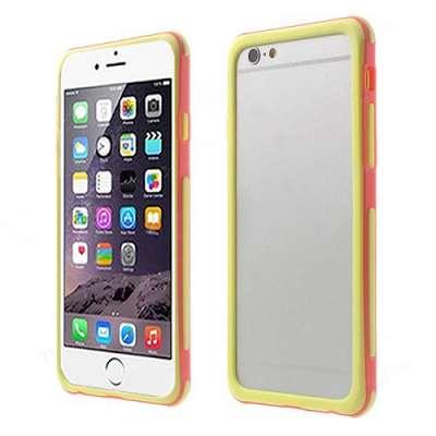 Bumper (rumen / oranžen) - Apple iPhone 6 / 6s