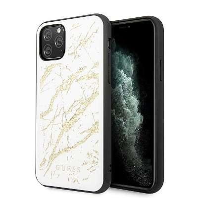 Originalen ovitek Guess (White&gold marble) za iPhone 11 Pro
