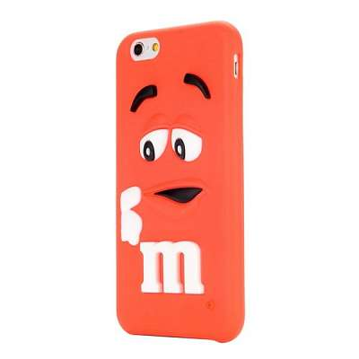 Ovitek M&M Bean RED za Apple iPhone 6 / 6s
