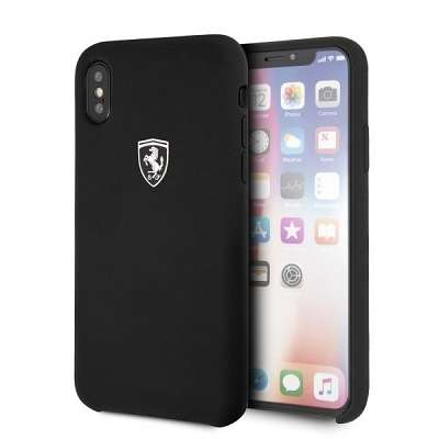 Originalen ovitek Ferrari (Silicone Off Track Collection) za iPhone X/XS