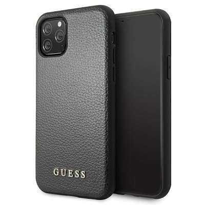 Originalen ovitek Guess (black) za iPhone 11 Pro