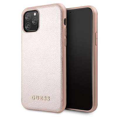 Originalen ovitek Guess (Rose gold) za iPhone 11 Pro