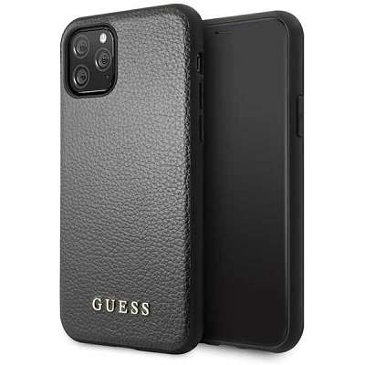 Originalen ovitek Guess (black) za iPhone 11 Pro Max
